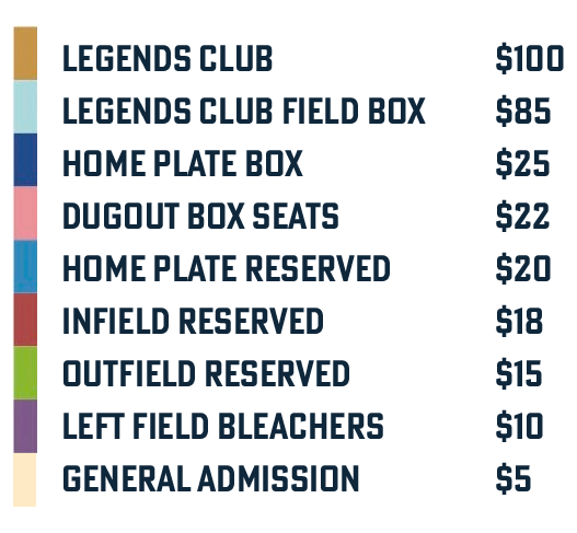 Single Game Pricing