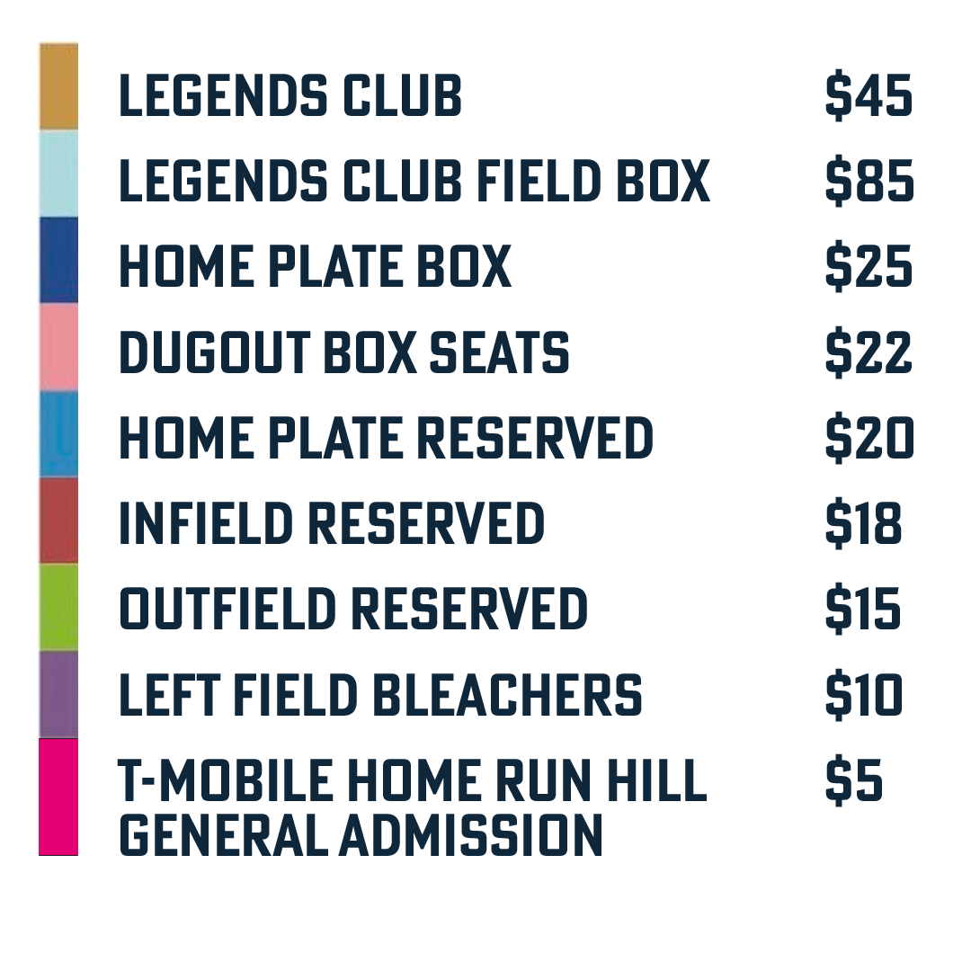 Single Game Ticket Pricing