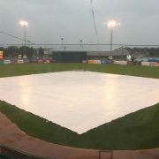 Sioux Falls Stadium in the rain