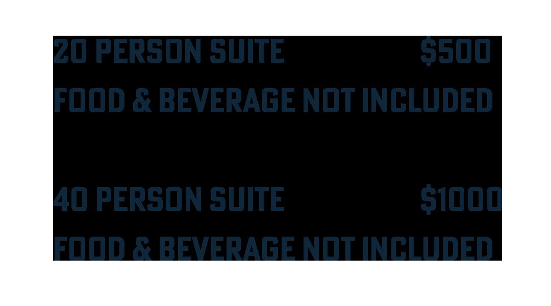 Suite Pricing